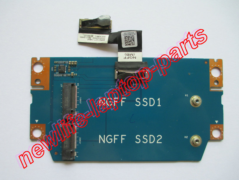 все цены на original laptop NGFF SSD board F7PCY 0F7PCY ZAP00 LS-A304P test good free shipping онлайн