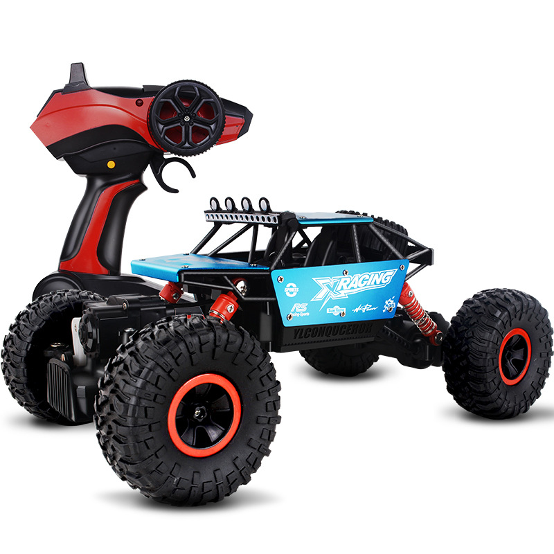 VCENORO RC Car 4WD 2.4GHz climbing Car 4x4 Double Motors Bigfoot Car Remote Control Model Off-Road Vehicle Toy
