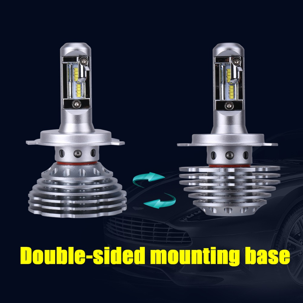 Image 5 - Mdatt carlight Bulbs Conversion Kit H11 H8 H9 2019 New Gen Adjustable Beam 120W 12000LM 6000K H1 H7 9005 9006 H4 LED-in Car Headlight Bulbs(LED) from Automobiles & Motorcycles