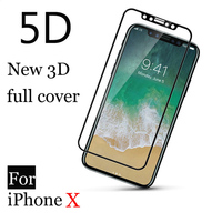 Romiky I6 I7 Soft Carbon Fiber 3D Curved Edge Full Body Cover Glass Film For Iphone