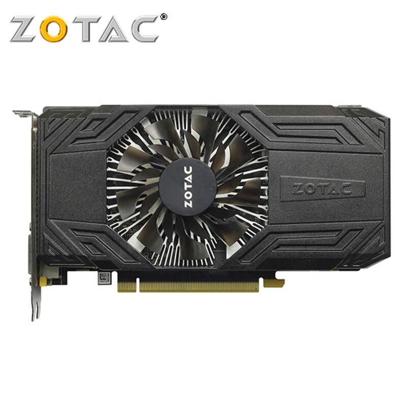 Carte graphique d'origine ZOTAC GPU GTX 950 2 GB 128Bit GDDR5 2GD5 cartes graphiques pour carte graphique nVIDIA Geforce GTX950 carte graphique d'ordinateur