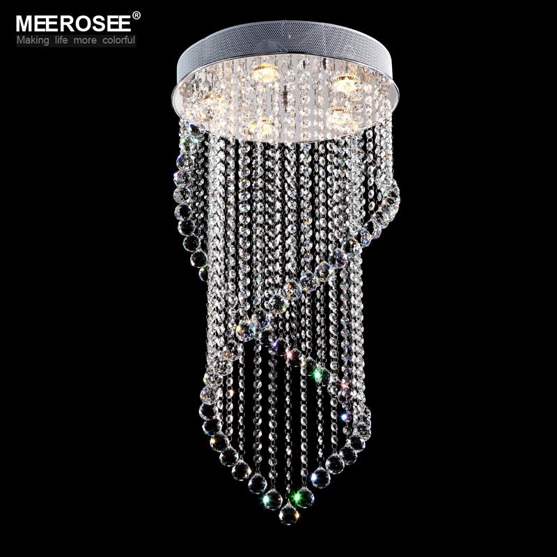 Modern Crystal Chandelier Light Fixture Crystal Light lustres for Ceiling Lamp Prompt Shipping 100% Guanrantee
