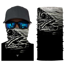 Skeleton Face Mask Halloween Mask Dust Balaclava Ghost Face Shield  Neck Motorcycle Bicycle Ski Skull Half Face Mask Ghost Scarf bjmoto cool skeleton skull motorcycle ski headband sport outdoor neck face mask mtb racing cycling windproof scarf balaclava