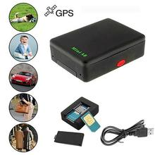 цена на Global car gps tracker Locator Real Mini Time Car Kid A8 GSM/GPRS/GPS Tracking Tracker USB Cable gps tracker