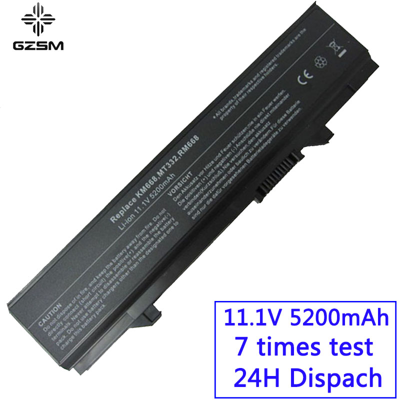 GZSM Laptop Battery E5400 For dell Latitude E5410 E5500 E5510 312 0762 312 0769 451 10616 KM742 KM769 0RM668 312 0902 battery battery for dell laptop battery laptop battery for dell -