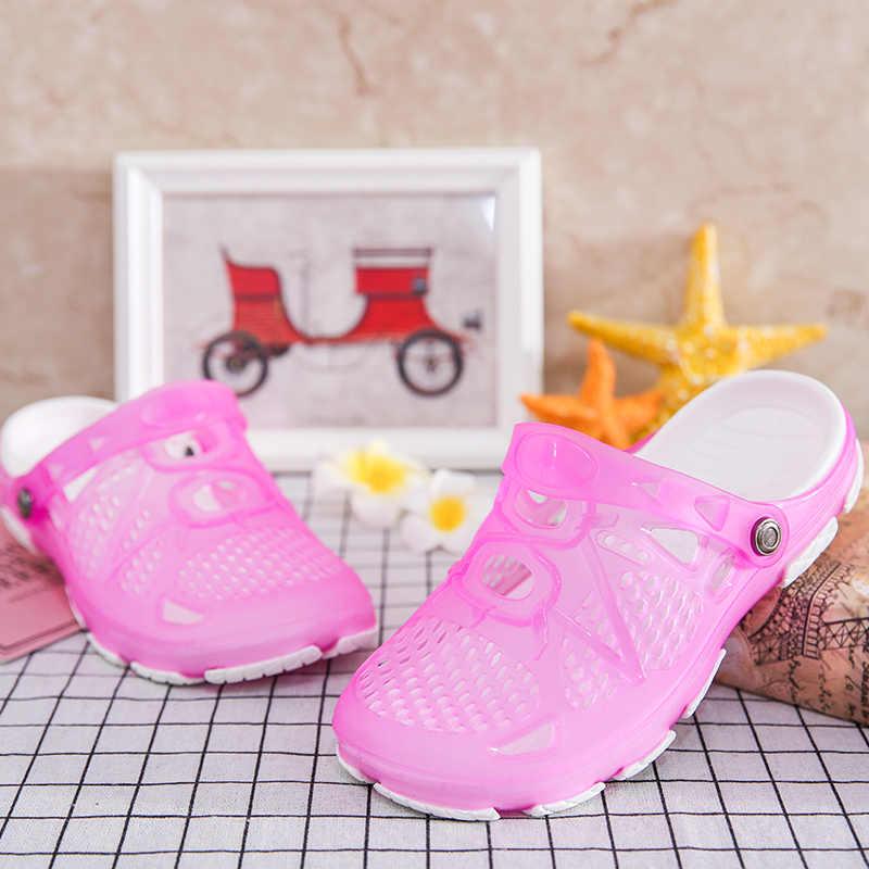 d82610e20e Women Water Sandals Summer Slippers Lightweight Croc 2018 Beach Casual  Sloane Diamante Flip Flops Swimming Classic Garden Shoes