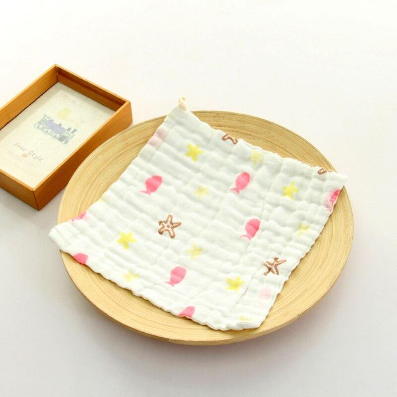 Handkerchief Baby Cotton Gauze Nursing Towel Clean Infants Feeding Towel