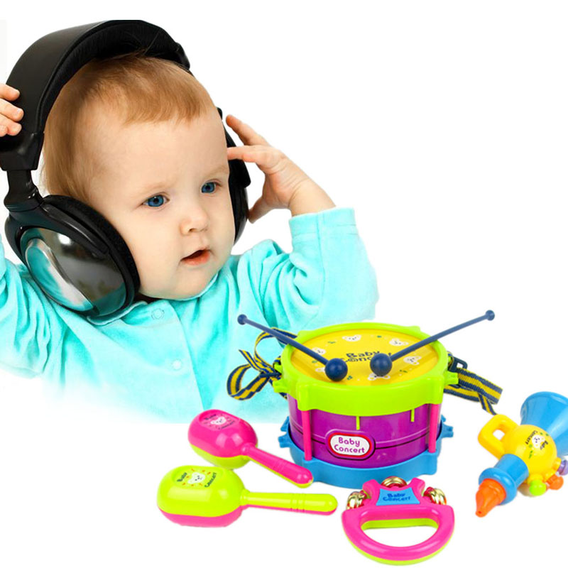 5pcsset-Toy-Musical-Instrument-Kids-Music-Toys-Roll-Drum-Musical-Instruments-Band-Kit-Infant-Playing-Children-Toy-Gift-2