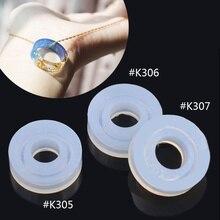 Граненые делая личи оборудования формы кольца силиконовые изделия ювелирные инструменты diy