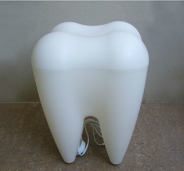 "Free Shipping ""Tooth"" Shape Leisure Plastic Chair"