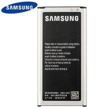 Original Samsung High Quality EB-BG900BBU Battery For Samsung S5 G900S G900F G900M G9008V 9006V 9006W G900FD 9008W NFC 2800mA аккумулятор мобильного телефона samsung eb bg900bbegru для galaxy s5 g900f g900fd 2800 mah