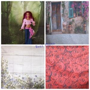 Image 2 - Yeele 녹색 나뭇잎 장면 초상화 상품 쇼 사진 배경 사진 스튜디오에 대한 개인 사진 배경