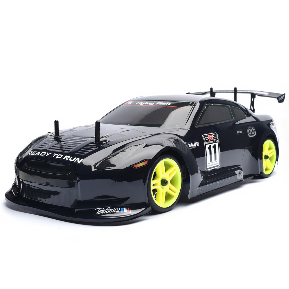 HSP RC Car 4wd Nitro Gas Power  Remote Control Car 1/10 Scale On Road Drift Racing 94122 Xstr High Speed Hobby Rc Drift  Car hsp rc car flyingfish 94123 4wd drifting car 1 10 scale electric power on road remote control car rtr similar himoto redcat