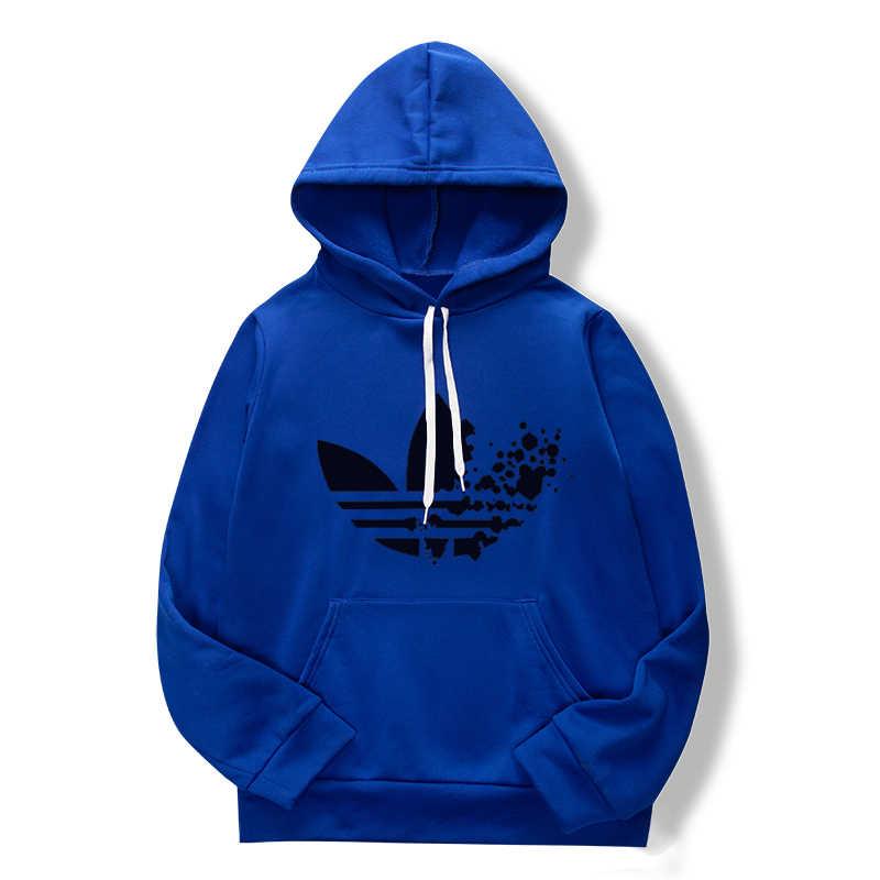 Весна/осень 2019 синий толстовка с капюшоном для мужчин большой карман street Осень Мода повседневное одежда в стиле хип-хоп пуловер, Мульти
