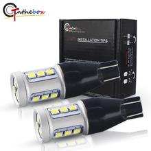 Gtinthebox W16W T15 Reverso Do Carro Lâmpada LED Canbus Erro OBC Livre Auto Luz De Backup Turn Signal Brake Lamp Red Âmbar Branco 12 V