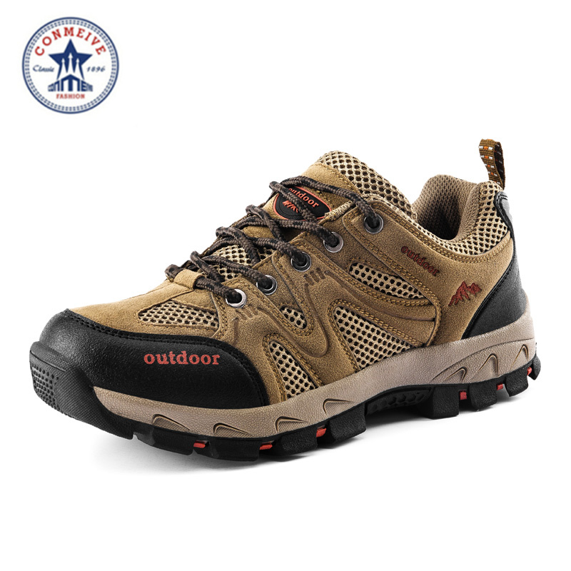 2016 hiking shoes men sapatilhas trekking outdoor climbing scarpe uomo sportive trekk rubber lace-up freeshipping Medium(B,M) hogan scarpe uomo