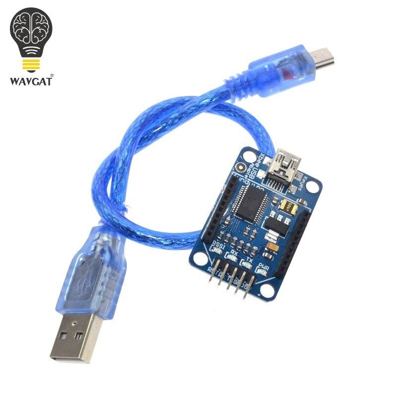 WAVGAT Explorateur XBee Xbee USB Mini Adaptateur Conseil Module Base Bouclier Multifonction FT232 Livraison gratuite