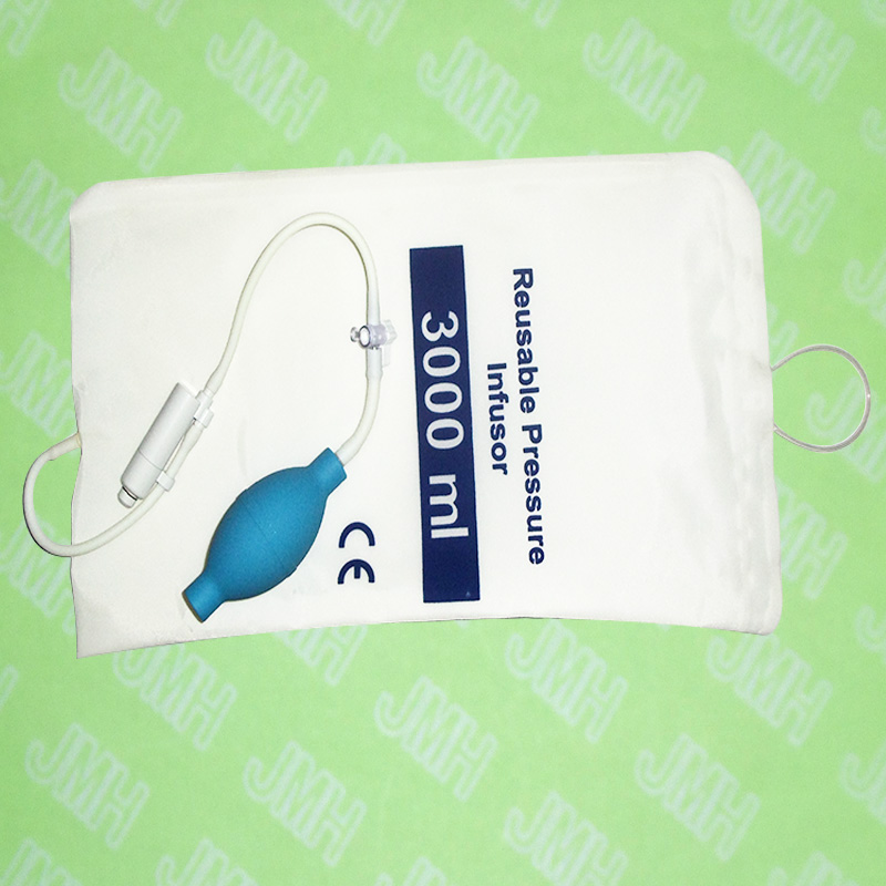 3000ml of the single tube Pressure Infusion bag ,with Pressure display.