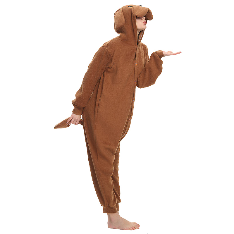 Teddy Dog adult onesie pajamas