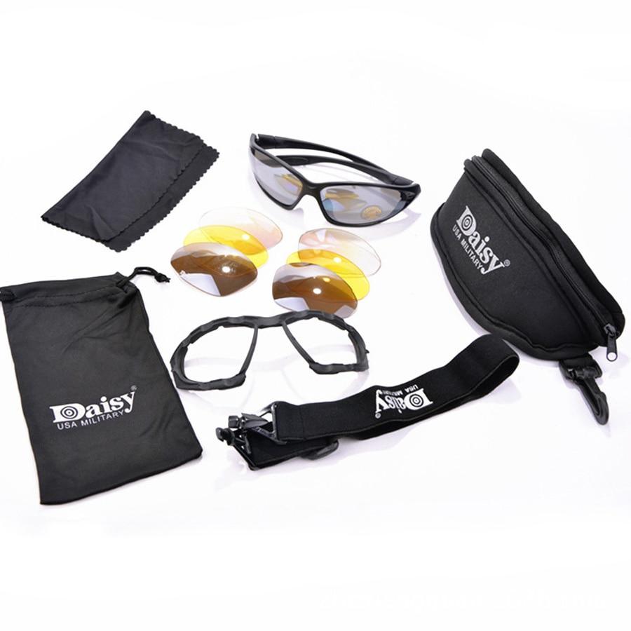 Daisy C4 Militar Óculos De Sol 4 Lente Kit, Óculos Caminhadas Camping  Esportes Óculos Óculos À Prova de Vento Do Deserto Óculos em Óculos de sol  de ... 6dc4289d13