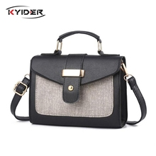 KYIDER Fashion Shoulder Bag Leather Handbag Small Flap Women Messenger Bags High Quality PU Crossbody Ladies Purse