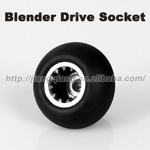 Liquidificador Socket Drive, metal sistema de conexão para conectar o recipiente para a base do motor(China)