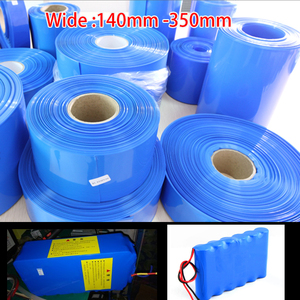 140mm - 350mm 18650 Lithium Battery Heat Shrink Tube Tubing PVC Shrinkable Film Pipe Sleeves Li-ion Wrap Cover Skin Accessories(China)