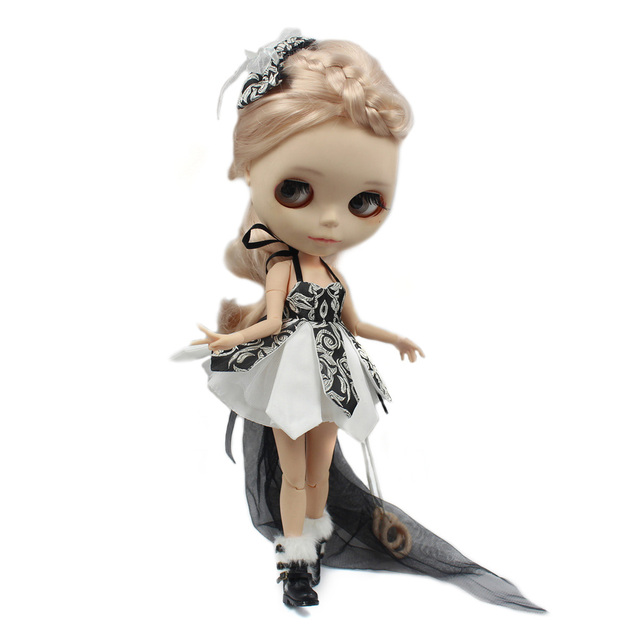 Neo Blythe Doll Dress With Hairpin