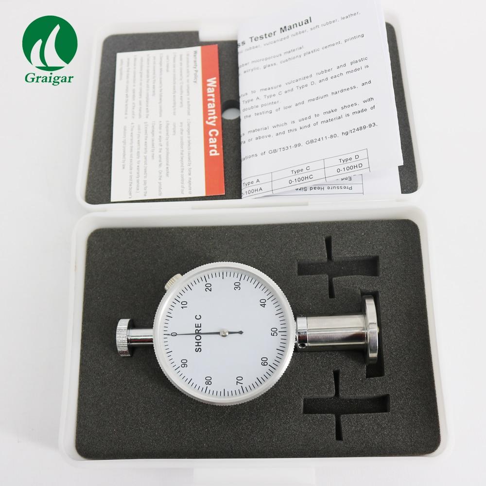 SHAHE LX-C Rubber Hardness Tester Shore Durometer Shore Hardness Meter цена