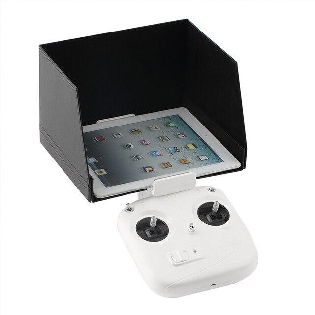 "DJI Phantom 4 Accessories 9.7"" Tablet iPad Mini Air Sunshade Sun Hood for DJI Inspire 1 Phantom 3 2 Free shipping"