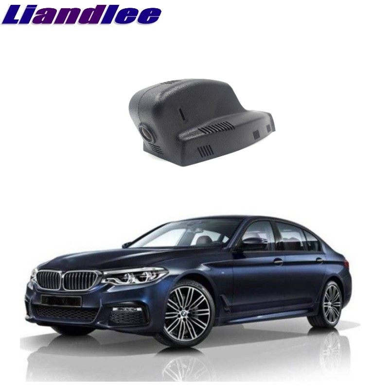 Liandlee For BMW 5 E60 E61 2003~2010 Car Black Box WiFi DVR Dash Camera Driving Video Recorder plusobd best car camera for bmw 5 series e60 e61 rearview mirror camera video recorder automobile car dvr cheapest camcorder