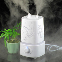 2014 New Purifier LED Night Light With Carve Design Ultrasonic Aroma Diffuser Aromatherapy Purifier Humidifer
