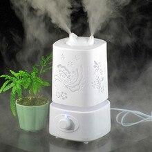 Ultrasonidos Humidificador de Aire Aromaterapia 110-240 V de La Lámpara de la Noche de LA UE/Enchufe EE. UU. generador de Niebla Niebla Difusa Aceite Esencial Difusor Huile Essenti