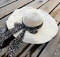 Утолщение bandeaus большой вдоль крышки - вс-затенение шляпа пляж кепка большой шляпы большой strawhat