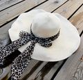 Bandeaus espesantes grandes a lo largo del casquillo del sol del sol shading casquillo de la playa grande sombrero de ala grande strawhat