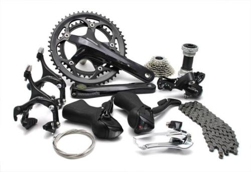 Shimano SORA 3500 3550 Road bike bicycle 2x9 Speed Groupset shimano road bike bicycle group set groupset sora 3500 9 speed black