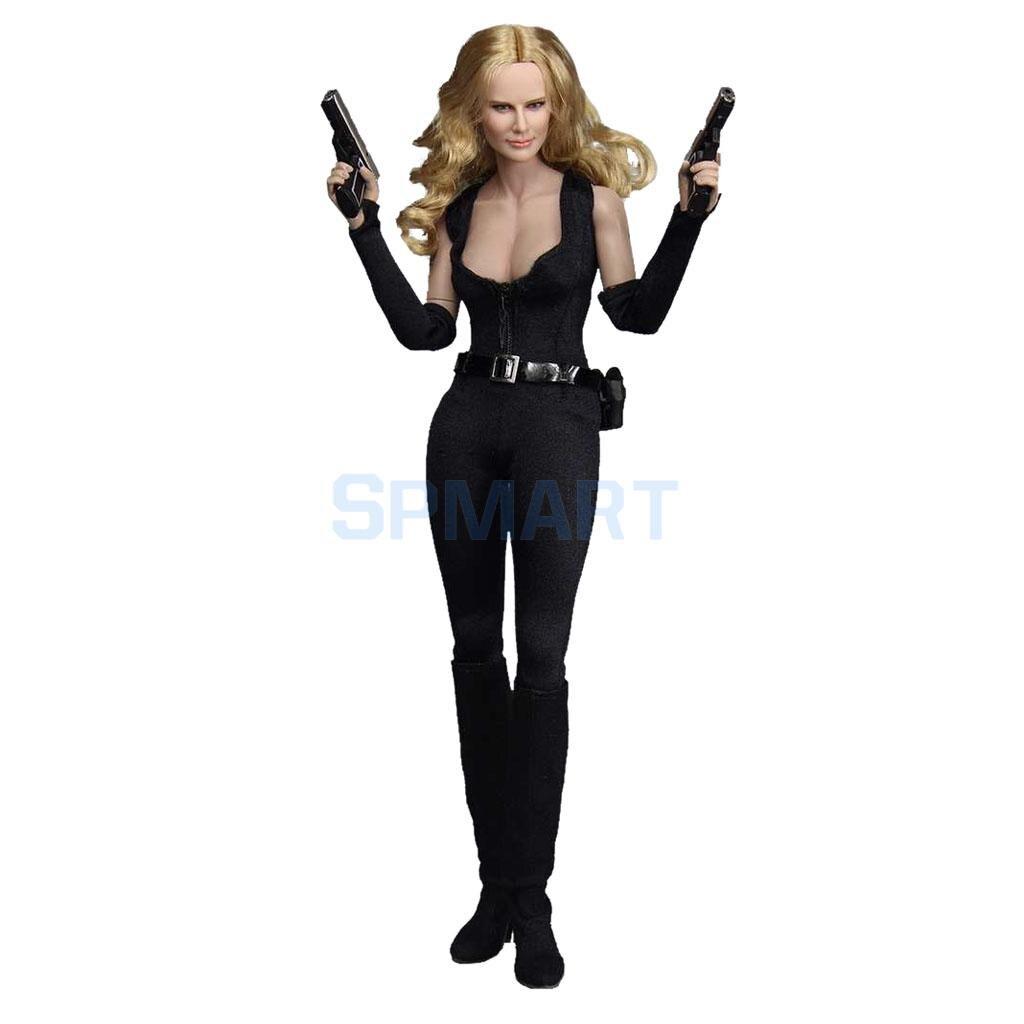 1/6 Масштаб ПВХ женские 12 дюймов агента фигурку модель в форме игрушки коллекционные ...