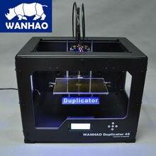 WANHAO дубликатор 4S двойной экструдер для многоцветной печати в печати размер 225*145*150 мм