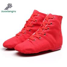 Women Latin Sports Dancing Sneakers Jazz Dance Shoes Lace Up Dancing Boots Sneakers Cowhide Bottom Women's Dance Shoes sneakers modern jazz dance shoes woman sasan 8880 women shoes slip up white athletics aerobics training shoe cowhide upper hot