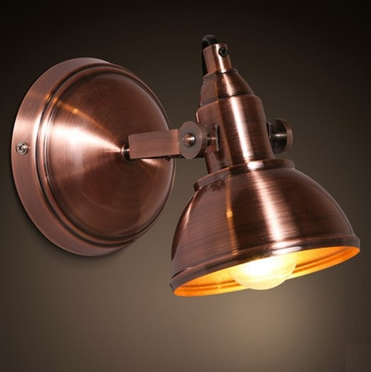 Loft Style Iron Vintage Wall Light Fixtures Multi Angle Rotation LED Wall Sconce For Bedside Wall Lamp Home Lighting Lamparas loft style industrial vintage wall lamp iron adjust led wall light fixtures home bedside wall sconce indoor lighting lamparas