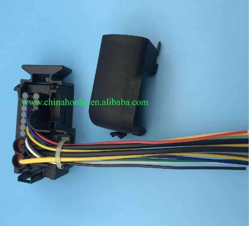 25 pin mechatronics wire harness dq200 0am dsg 7 speed connector plug with  pigtail for audi