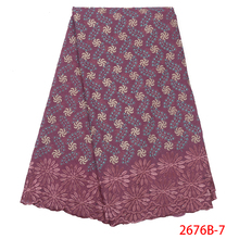 African Dry Lace Fabric Swiss Voile With Stones Swiss Cotton Lace High Quality 2019 Onion Lace Fabrics For Wedding NA2676B 1