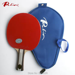 Palio offizielle zwei sterne fertigen schläger pickel in für sowohl gummi schnelle angriff mit schleife ping pong spiel schläger spiel