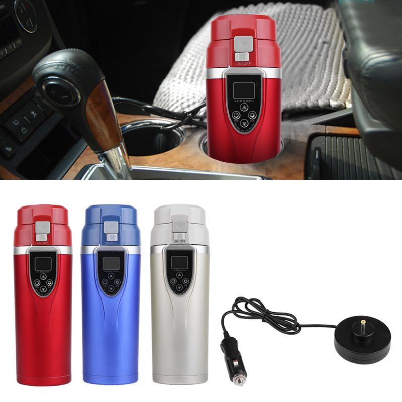 Mug-Kettle Auto-Accessories Travel-Heating-Cup Coffee-Tea Boiling Electric Portable 12V