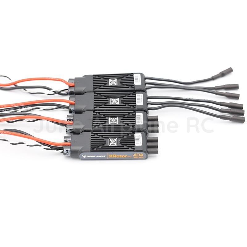 المصممة حديثا شكل 2 قطع Hobbywing XRotor برو 40A ESC 3 ثانية 6 ثانية يبو فرش ESC ل RC drone متعددة المحور Copte-في قطع غيار وملحقات من الألعاب والهوايات على  مجموعة 1