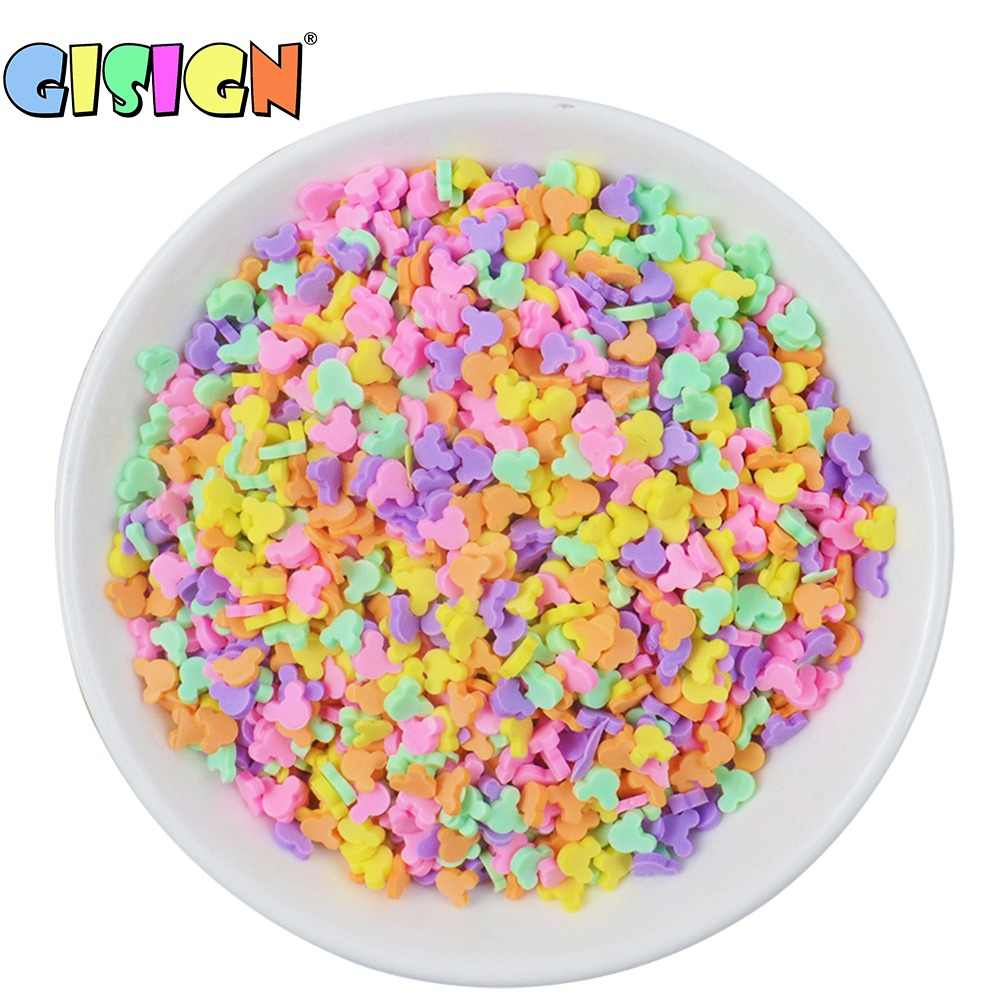 20g Charms Addition Sprinkles Slime Filler for Fluffy Mud Toys Slime Supplies Accessories Clay DIY Beads Cake Dessert Kit