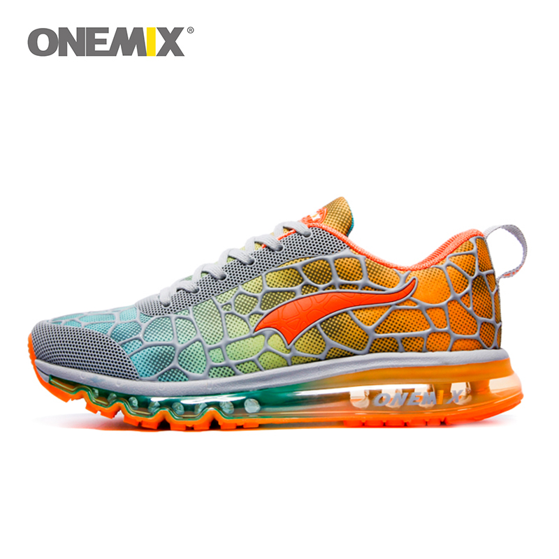 Onemix New men's Running Shoes Breathable Outdoor Athletic Walking Sneakers hommes sport chaussures de course plus size 35-47 onemix men s running shoes breathable zapatillas hombre outdoor sport sneakers lightweigh walking shoes plus size 39 47 sneakers