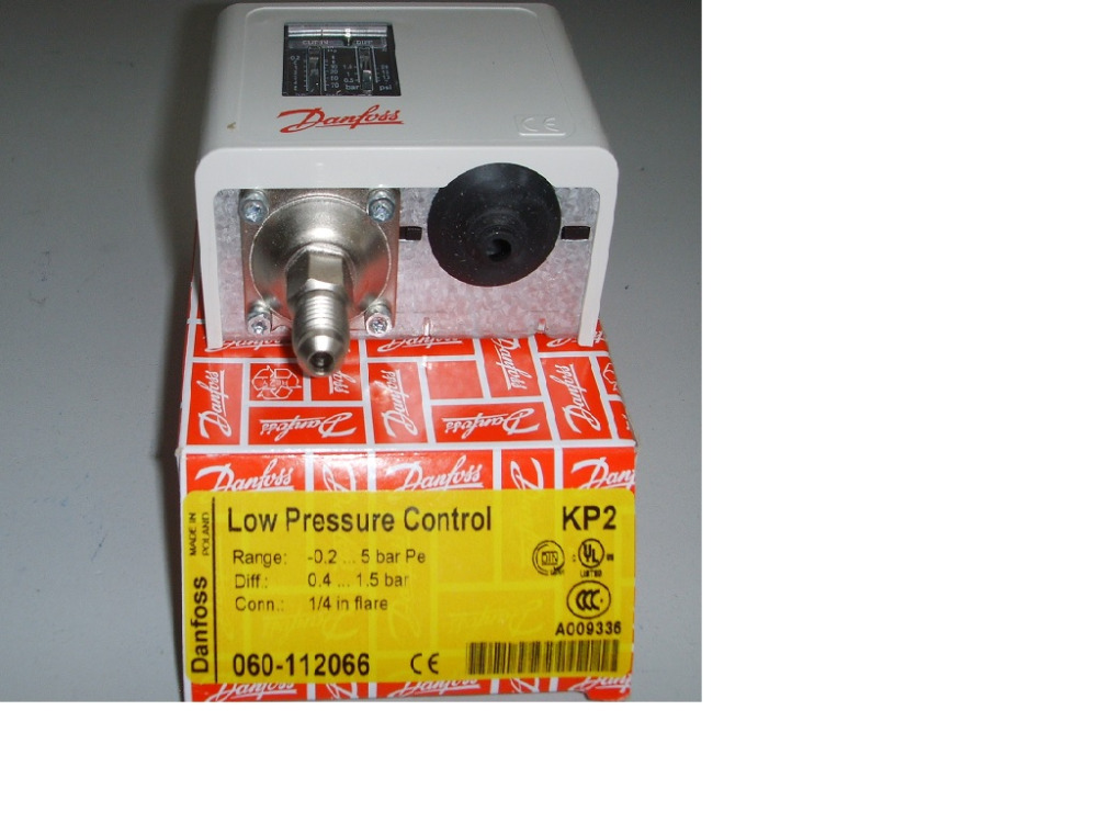 Pressure controller switching relay Low pressure controlled KP2 060-1120 new and original kp15 060 1264 kp15 060 1265 double pressure switch high and low voltage pressure controller