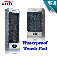 Case-Reader Waterproof Access-Control Electric-Gate-Opener Smart-Keypad RFID 125khz Touch