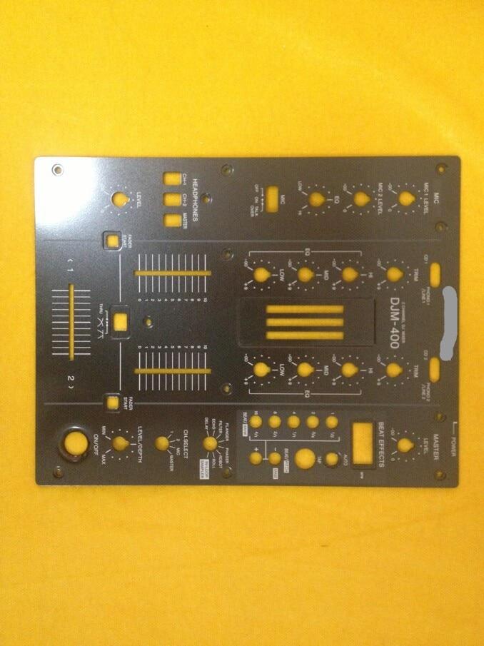 [BELLA]Original   DJM-400 DJM400 mixer fader black iron panel   vertical cutting[BELLA]Original   DJM-400 DJM400 mixer fader black iron panel   vertical cutting